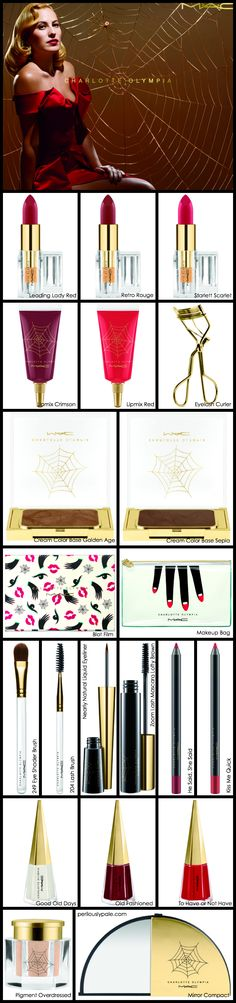 MAC Charlotte Olympia Collection