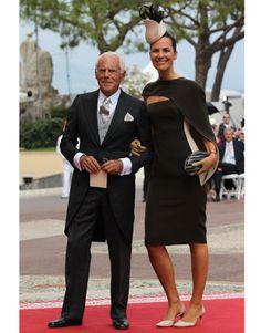 Giorgio e Roberta Armani al matrimonio reale del Principato di Monaco