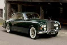 1965 Rolls Royce Silver Cloud III Coupe Beautiful color and the car.