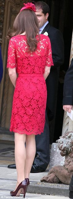 Kate in Erdem at a wedding Saturday                                    @Kecia S You were right, just a diff. color.