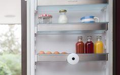 Die kleine Smarter Fridge fotografiert das Kühlschrankinnere, sobald Sie die Kühlschranktür um mehr als 15 Grad öffnen.