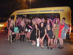 RAVENSHEAD COMMUNITY TRANSPORT: NIGHT OUT WITH THE GIRLS ....