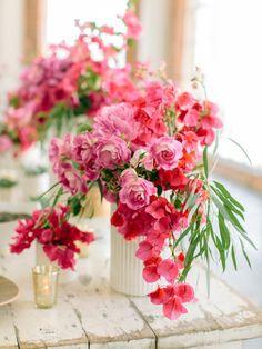 Bougainvillea Wedding Inspiration - Style Me Pretty