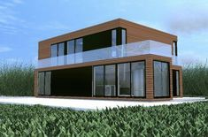 Shipping container home... #cargocontainerhomes
