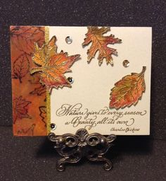 PaperArts Cafe: Serendipity Stamps Card