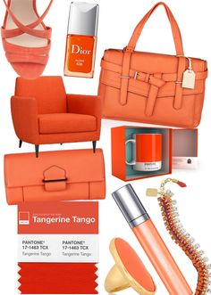 Tangerine tango, colour of 2012