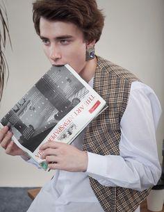 new masculinity,newspaper, office