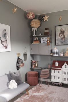 Ikea Girls Room, Kids Bedroom, Decor Room, Living Room Decor, Home Decor, Creative Kids Rooms, Susa, Living Room Carpet, Baby Boy Rooms