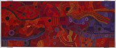 Ken Tjungkara (Australian, Aboriginal — Pitjantjatjara people, Amata, South Australia, Australia; b. 1969): Seven Sisters, 2012