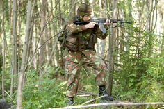 finland armed forces | ... M62 in full battle kit of reserve soldiers of Armed Forces Finland