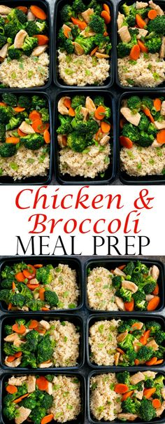 Chicken and Broccoli Stir Fry Weekly Meal Prep