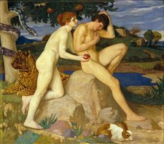 William Strang Adam and Eve print for sale. Shop for William Strang Adam and Eve painting and frame at discount price, ships in 24 hours. William Blake, Bic For Her, Adam Et Eve, Illustrator, Google Art Project, Tate Britain, Tate Gallery, Garden Of Eden, Rudyard Kipling