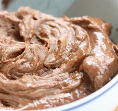 Pumpkin Chocolate Frosting (vegan, gluten free, soy free)