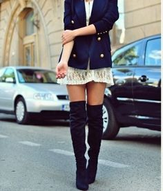 knee high boots are so lovely