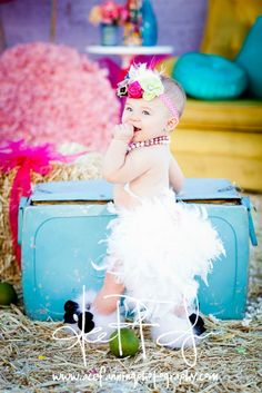 'LiFE iS BETTER WHEN YOU ARE WEARiNG FEATHERS' OVER THE TOP FEATHER BLOOMERS BY ROYAL BOWTIQUE   {www.facebook.com/royalbowtique}