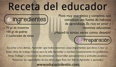 ¿Os apetece cocinar un plato educativo? Seguid paso a paso la receta que os proponemos... :)