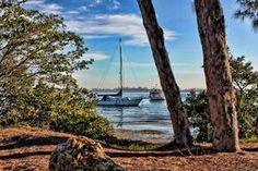 Its€™s A Beautiful Morning via @hhphotography3 #sailboat #morning #sunrise #bay #wallart