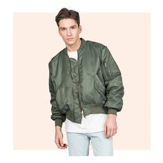 Y/PROJECT - KHAKI BOMBER JACKET