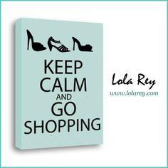 ¡Por fin es #Viernes!  Keep Calm and go  #Shopping!  Consigue tus #zapatos favoritos en www.lolarey.com #LolaRey