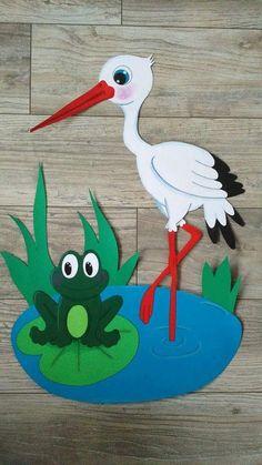 Bird Crafts, Nature Crafts, Flower Crafts, Christmas Paper Crafts, Easy Paper Crafts, Arts And Crafts, School Board Decoration, School Decorations, Animal Crafts For Kids