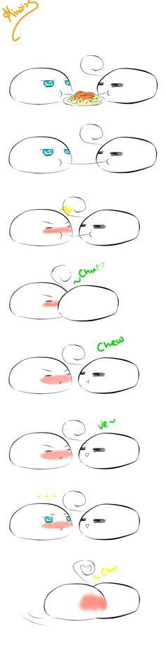 Chew, Chew by KiwisSes.deviantart.com on @deviantART