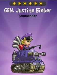 Gen. Justine Bieber {video}