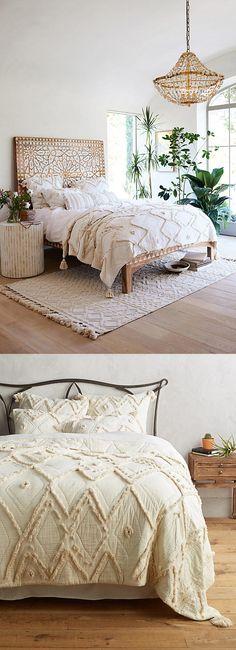 Anthropologie Aldalora Quilt - #bedroom #decor #ad