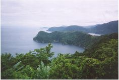 The view on the way to Maracas Bay, Trinidad!