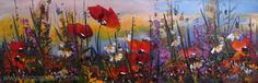 "http://www.largogallery.com/ Hikmet Cetinkaya,  ""Poppies"", oil, canvas, 20/60"