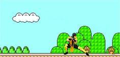 Jogando o bom e velho Mario! SQN  http://acessogames.com.br/