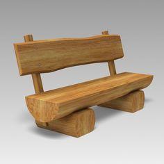 Garden Furniture 3d Model ralph lauren home - maxfield lounge chair | 3d model | best lounge