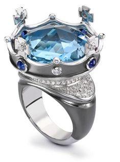 Theo-Fennel Diamond Jubilee Sapphire ring