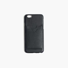 madewell leather card case for iphone® 6.