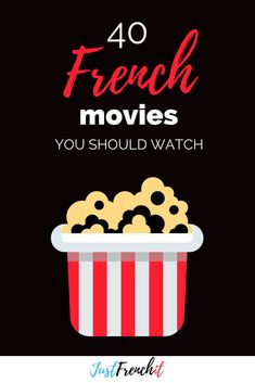 How to use movies to learn French + 40 of the best french movies How to use movies to learn French? It's a good question. Because just putting on one of the best French movies is not going to cut it. Learn French Free, Learn French Beginner, Learn French Online, How To Speak French, Learning French For Kids, Ways Of Learning, French Language Learning, Teaching French, English Language