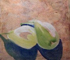 Deux Paires Mures  Original Fine Art Oil by RichardHarveyAllsop, $67.50