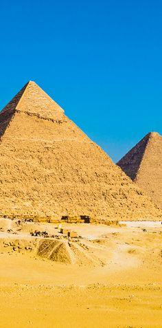 Journey to the capital of Egypt to explore the country's incredible history. The Great Pyramid of Giza is one of the Seven Wonders of the Ancient World.