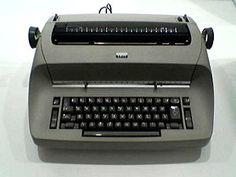 IBM Selectric typewriter, 1961
