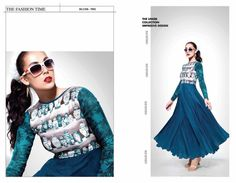 Modern Style Salwar Kameez without Dupatta...Shop latest trends on http://www.indianethnicfashion.com