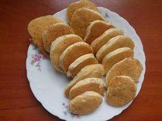 Pancake z kaszy manny i banana Sweet Cookies, Baby Food Recipes, Pancakes, Bread, Maj, Food Ideas, Recipes For Baby Food, Brot, Pancake