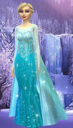 Los Sims 4 Mods, Sims 4 Game Mods, Disney Princess Dresses, Disney Dresses, Sims 4 Game Packs, Theme Carnaval, Sims 4 Anime, Frozen Elsa Dress, Banquet Dresses