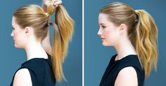 Eight ridiculously simple hairstyles you can dointen seconds