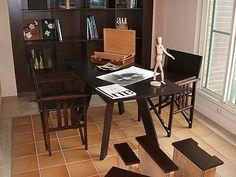 #書桌椅-陸府建設實品屋