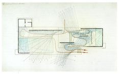 reflection from glass BARCELONA PAVILION | Paul Rudolph