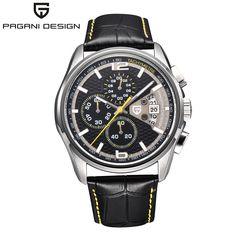 US $68.78 - 2016 Watches Men Luxury Brand Multifunction Pagani Design Quartz Men Sport Wristwatch Dive 30m Casual Watch Relogio Masculino