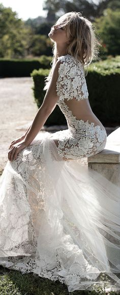 Idan Cohen 2017 Bridal Wedding Dresses 13 | Deer Pearl Flowers