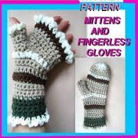 fingerless gloves patterns for boys crochet - Google Search
