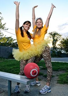 Kickball + TUTUS = WAY MORE FUN!