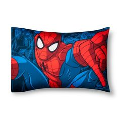 Marvel Spider-Man Red & Blue Pillow Cases (Standard)