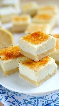Lemon Cheesecake Creme Brulee Bars - Lauren's LatestLauren's Latest