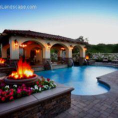 Wow, would love a pool like that!!!